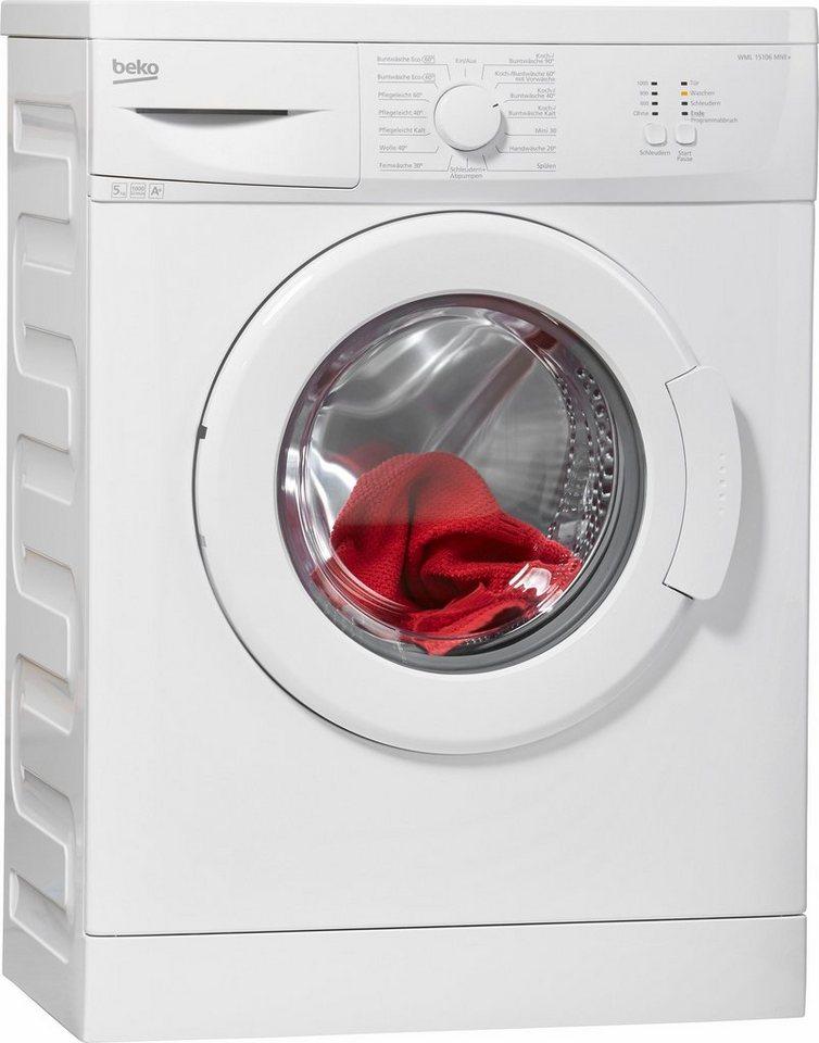 beko wml 15106 ne f2 waschmaschine im test 2017. Black Bedroom Furniture Sets. Home Design Ideas