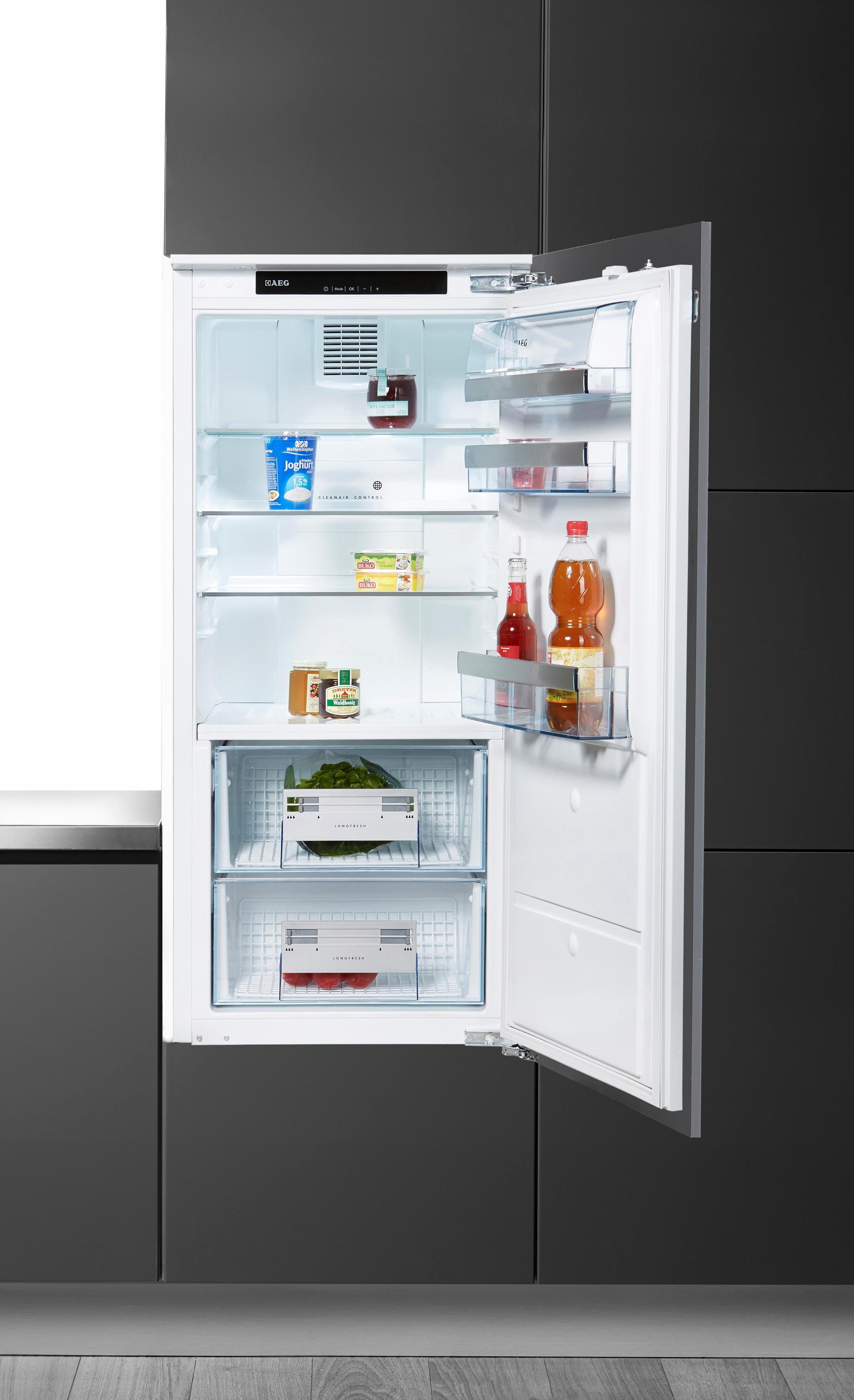 AEG integrierbarer Einbau-Kühlschrank »SANTO KZ81200F0«, A++, 121,9 cm