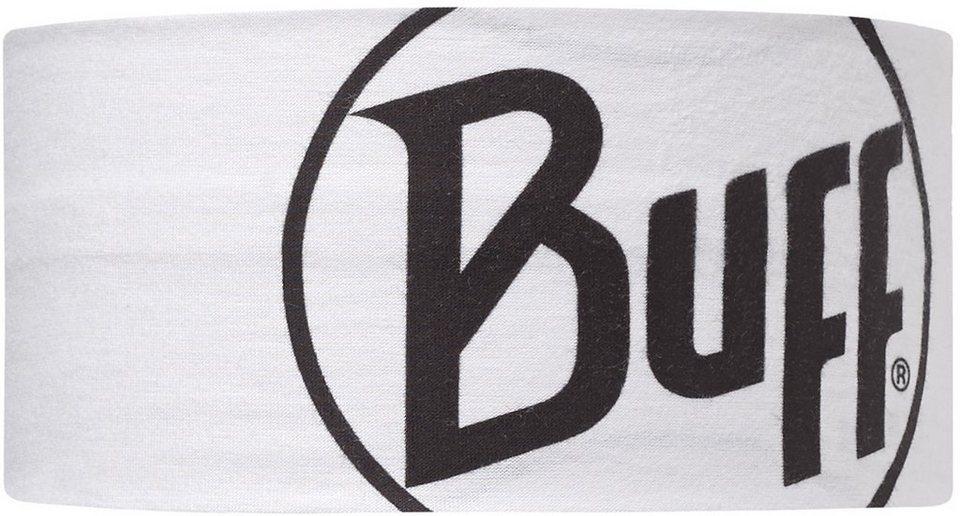 BUFF® Stirnband, »UV Headband Logo White« in Logo White