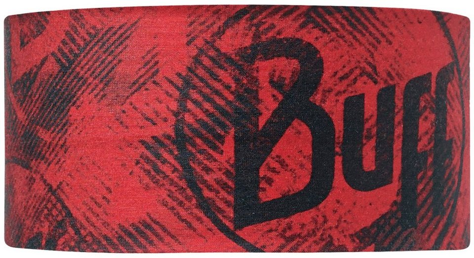 BUFF® Stirnband, »UV Headband Crash Fiery Red« in Crash Fiery Red