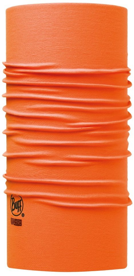 BUFF® Halstuch, »High UV Protection Solid Orange Fluor« in Solid Orange Fluor