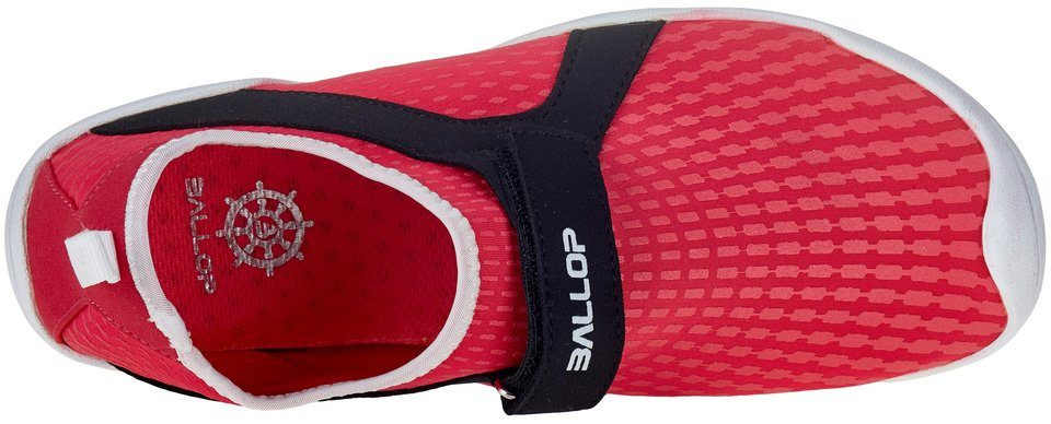 Ballop Barfußschuhe, Aqua Fit Typhoon red