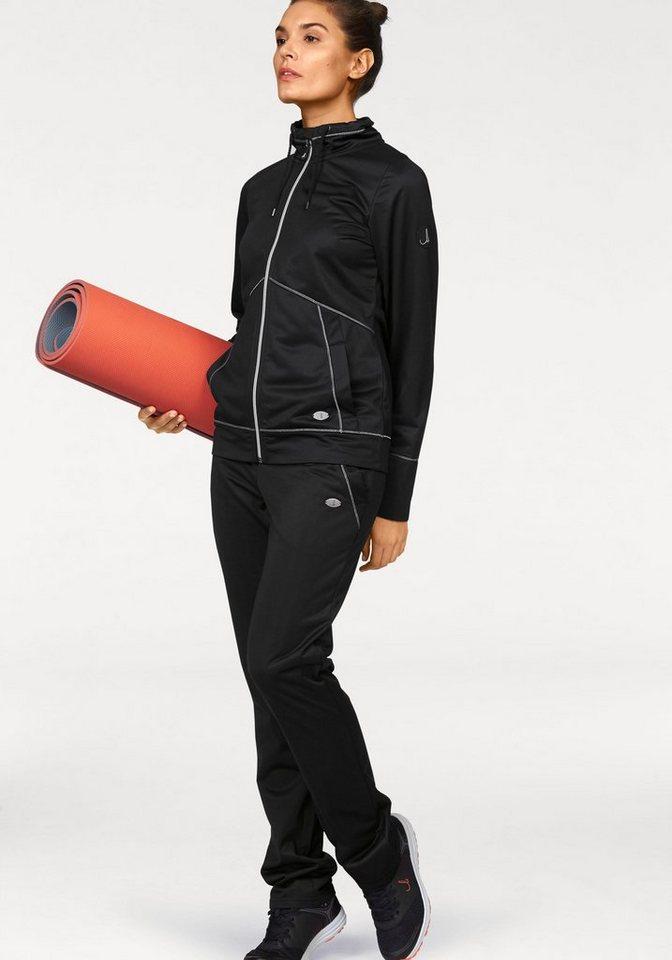 Maria Höfl-Riesch Trainingsanzug in schwarz