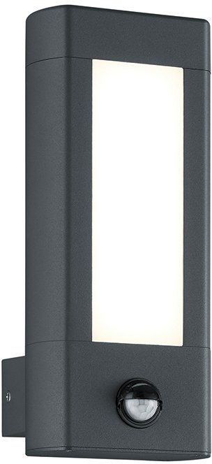 Trio LED Außenleuchte, 1flg., Wandleuchte, »RHINE« in Aluminium Druckguss, anthrazit