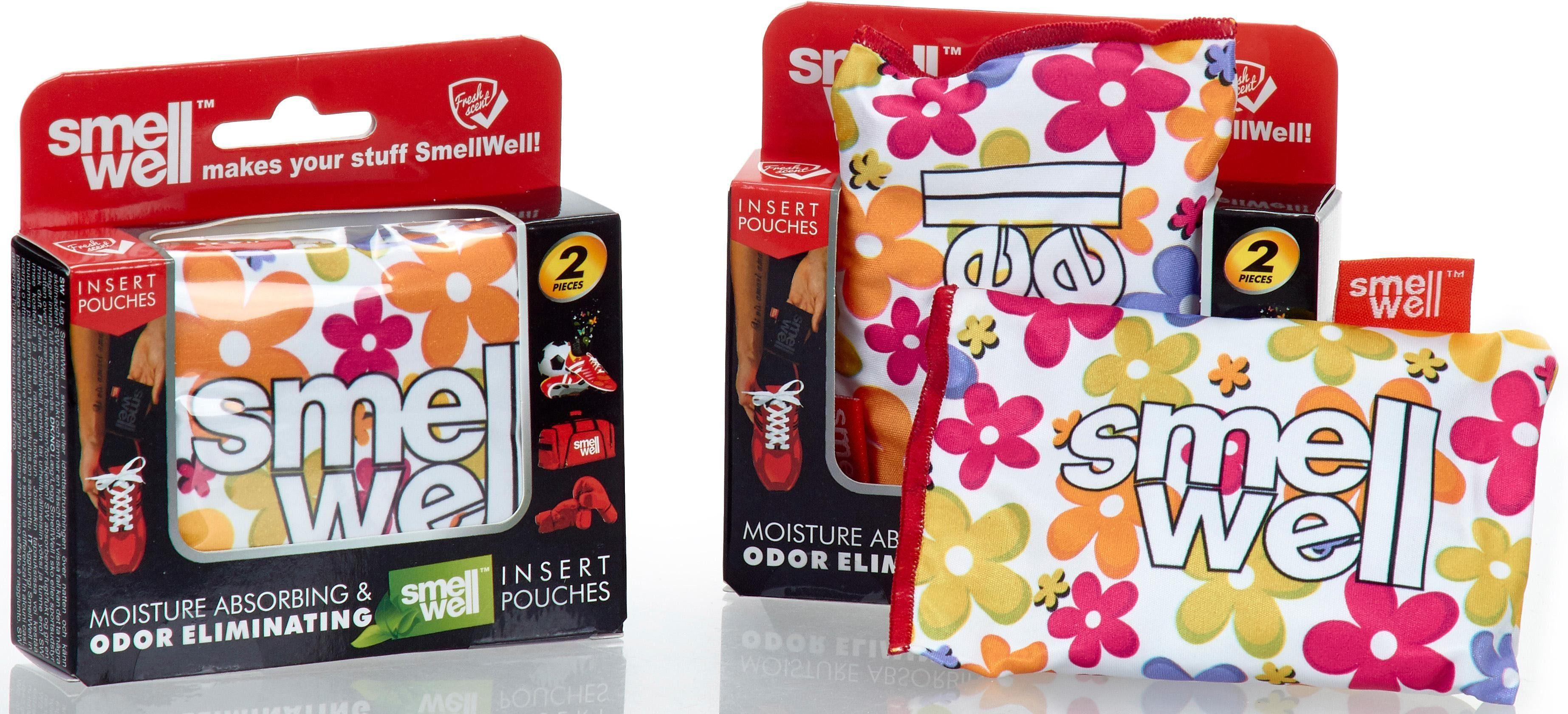 SmellWell Anti Geruchs Säckchen 4 Stück, »Flower Power«