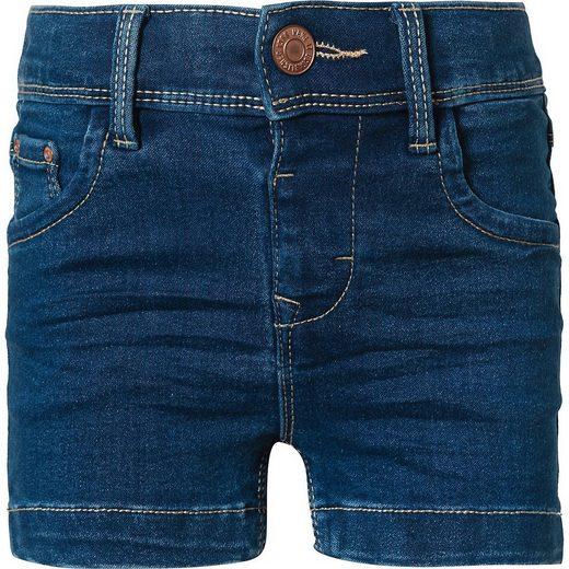Name It Jeansshorts »Jeansshorts NMFSALLI für Mädchen, Organic Cotton«
