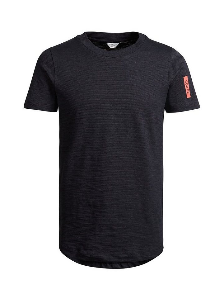 Jack & Jones Long-Fit- T-Shirt in Navy Blazer