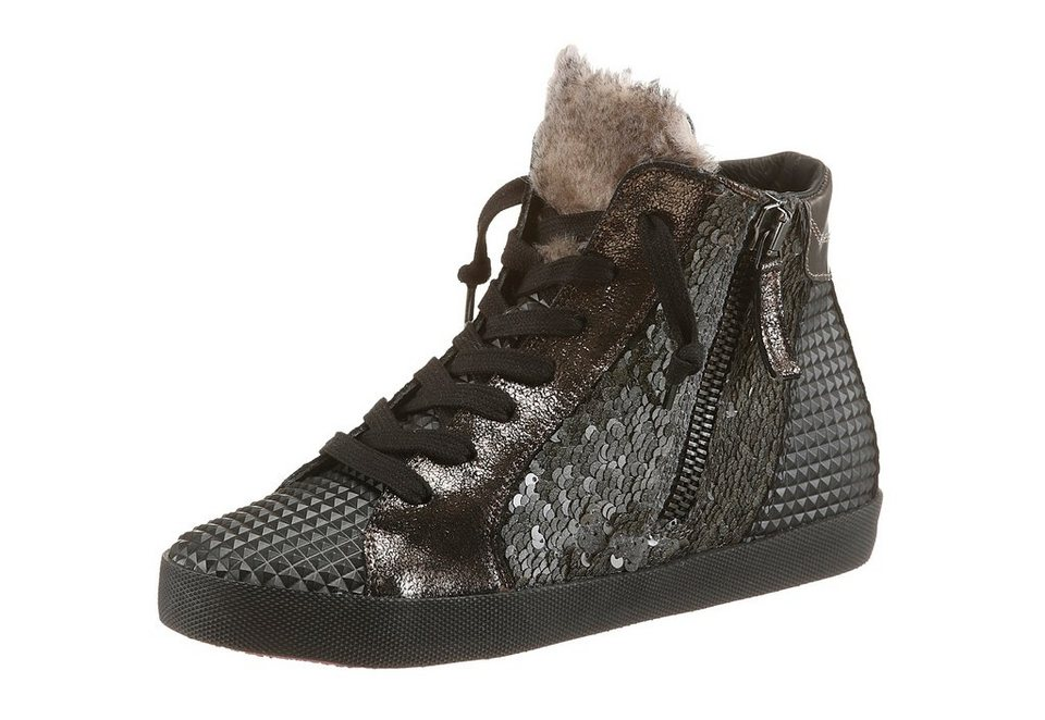 Donna Carolina Sneaker in schwarz-grau
