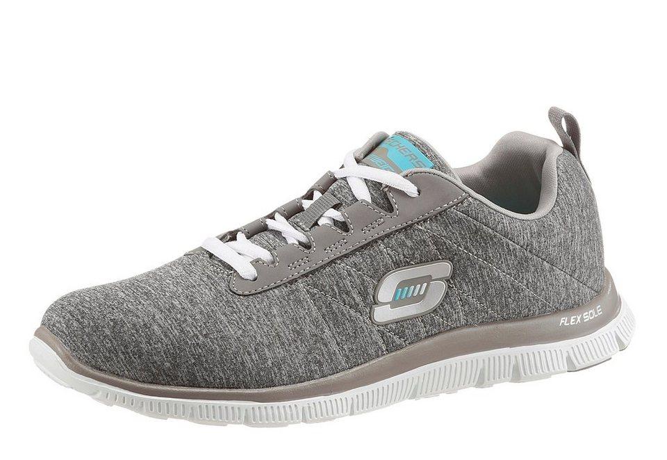 Skechers Sneaker mit Memory Foam in grau