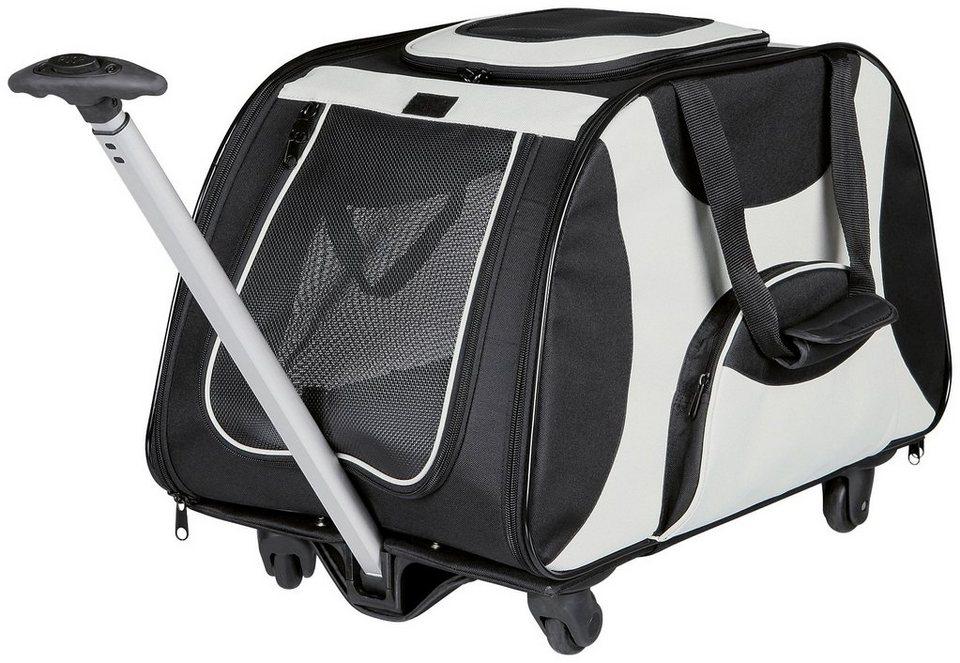 Transportbox »Trolley«, B/T/H: 34/67/43 cm, bis zu 21 kg in schwarz