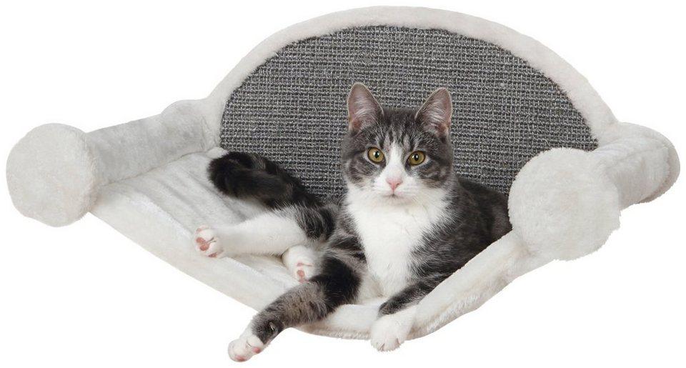 Katzen-Kletterwand »Hängematte zur Wandmontage« in grau/weiß