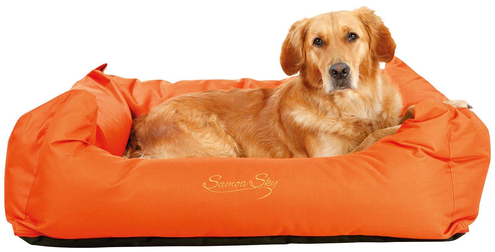 Hunde-Bett »Samoa Sky«, BxL: 80x65 cm, orange