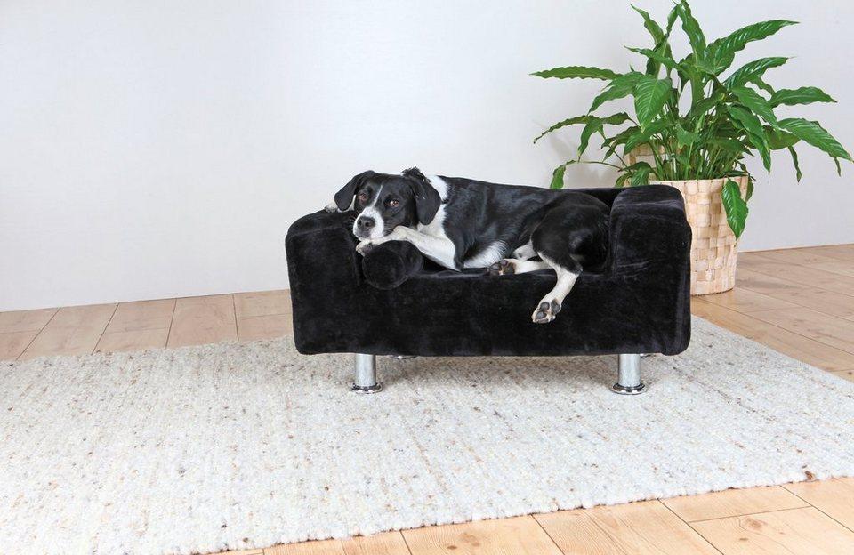Hunde-Sofa »Hundekönig«, BxL: 78x55 cm in schwarz