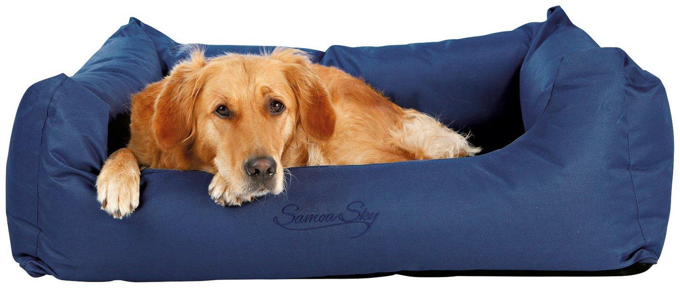 Hunde-Bett »Samoa Sky«, BxL: 100x80 cm, blau - Preisvergleich