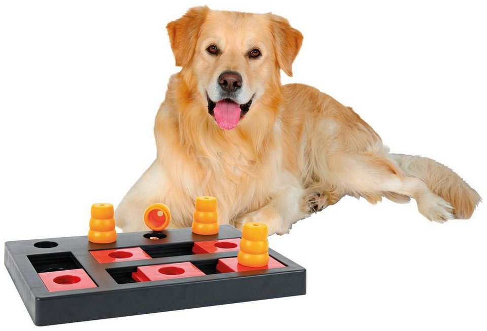 Hundespielzeug »Chess Strategiespiel« in rot