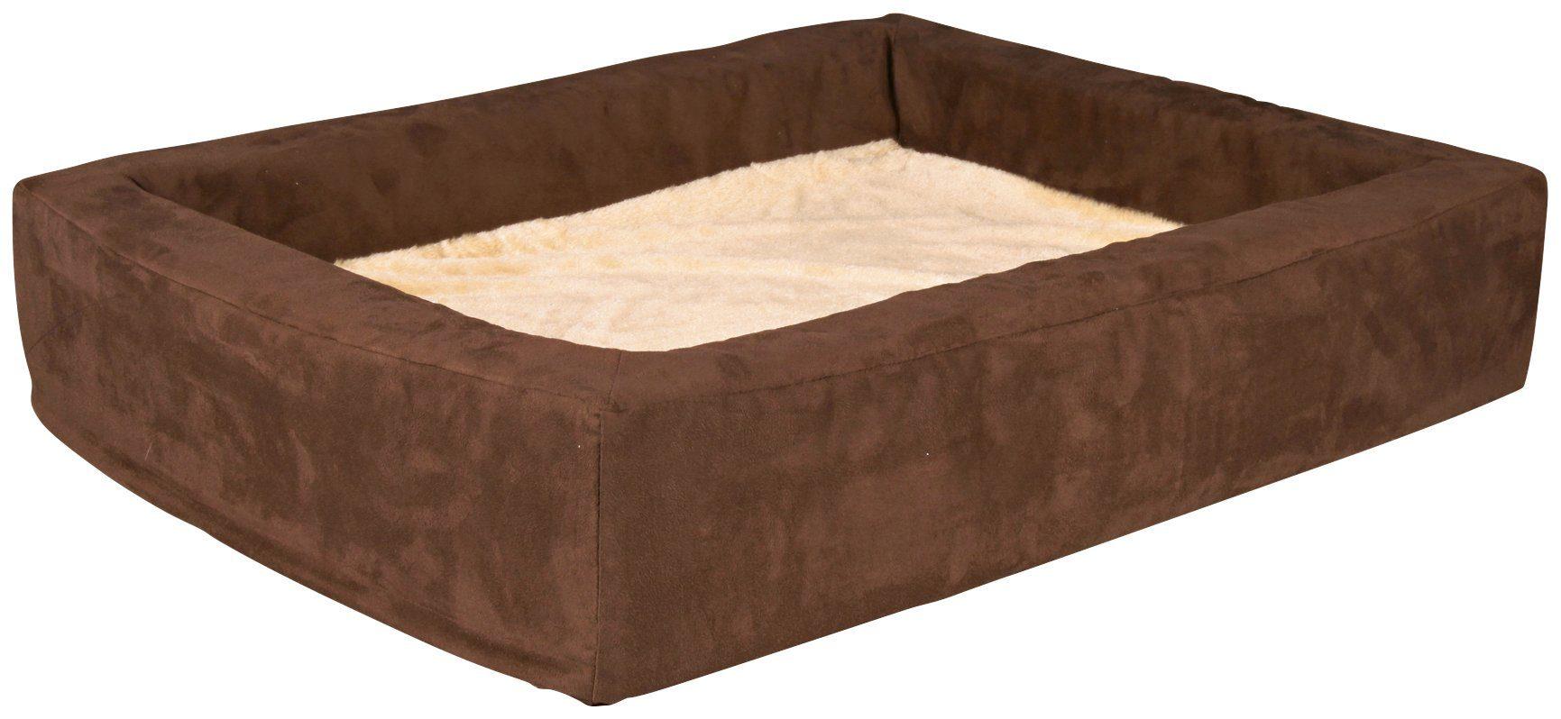 Hunde-Bett »Vital Bett Memory«, BxL: 100x80 cm, braun/beige