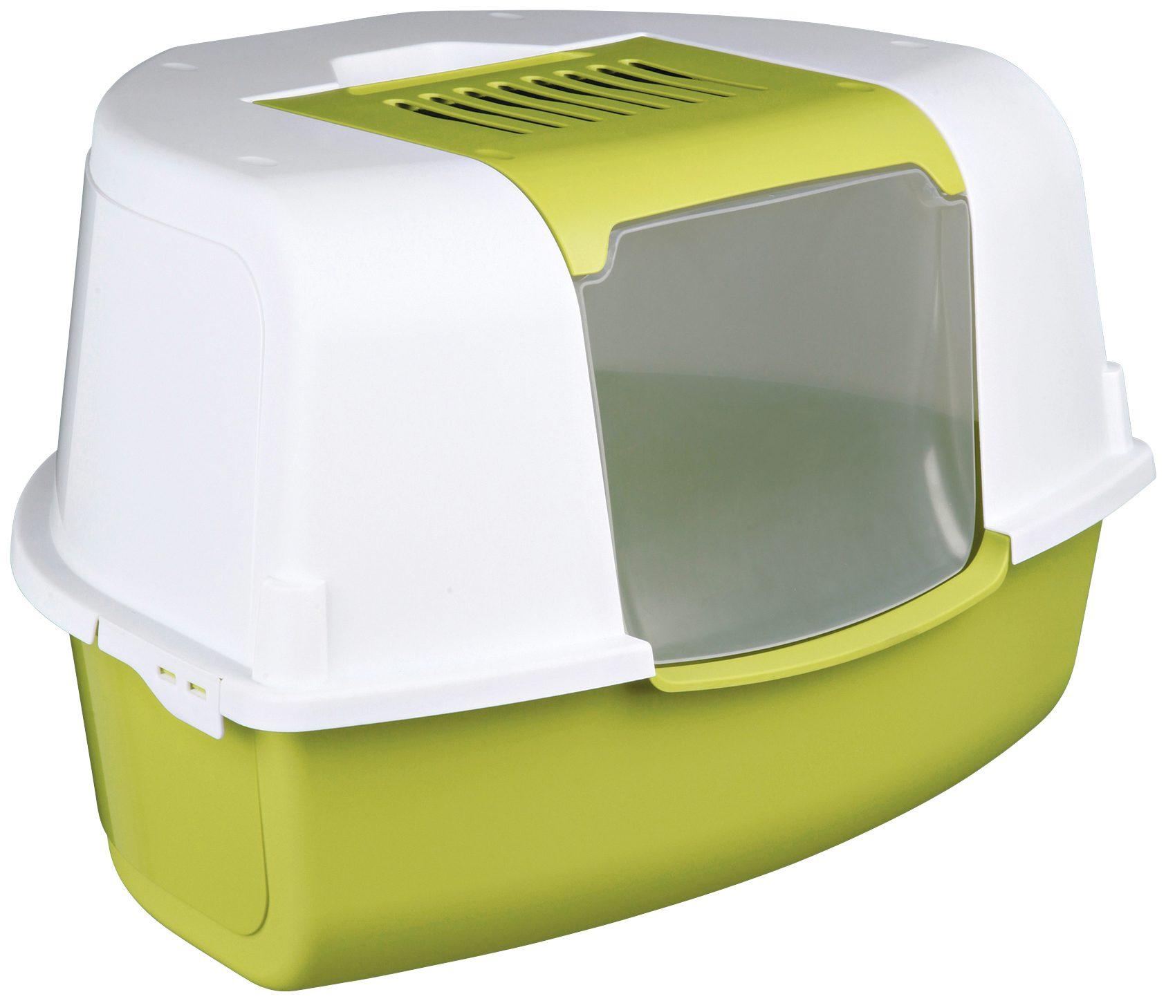 Katzentoilette »Tadeo Open Top«, B/T/H: 58/50/38 cm, hellgrün/weiß