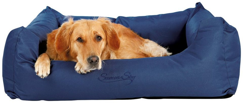 Hunde-Bett »Samoa Sky«, BxL: 80x65 cm, blau in blau