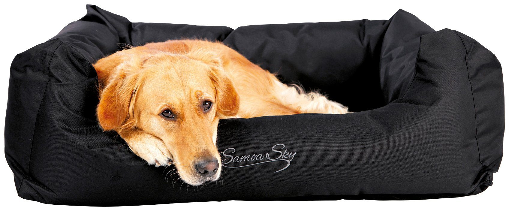 Hunde-Bett »Samoa Sky«, BxL: 80x65 cm, schwarz