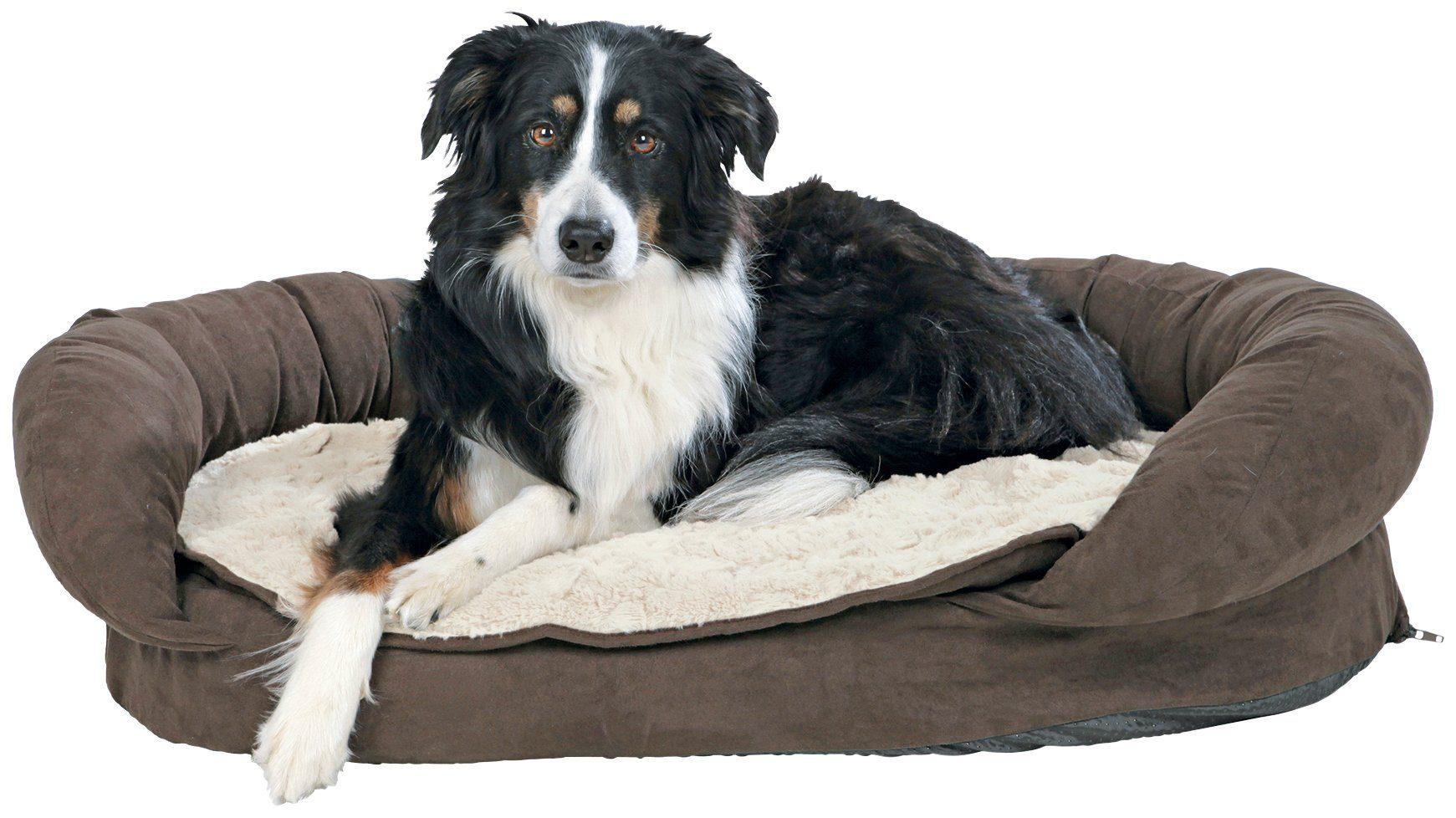 Hunde-Bett »Vital Bett Fabiano«, BxL: 75x55 cm, braun/beige