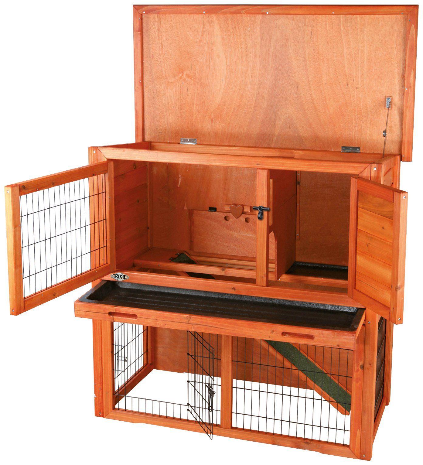 TRIXIE Kleintierstall , BxTxH: 104x52x97 cm, mit Freilaufgehege, zweistöckig