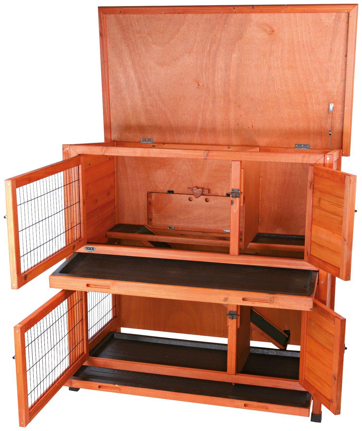 TRIXIE Kleintierstall , BxTxH: 116x65x111 cm, zweistöckig