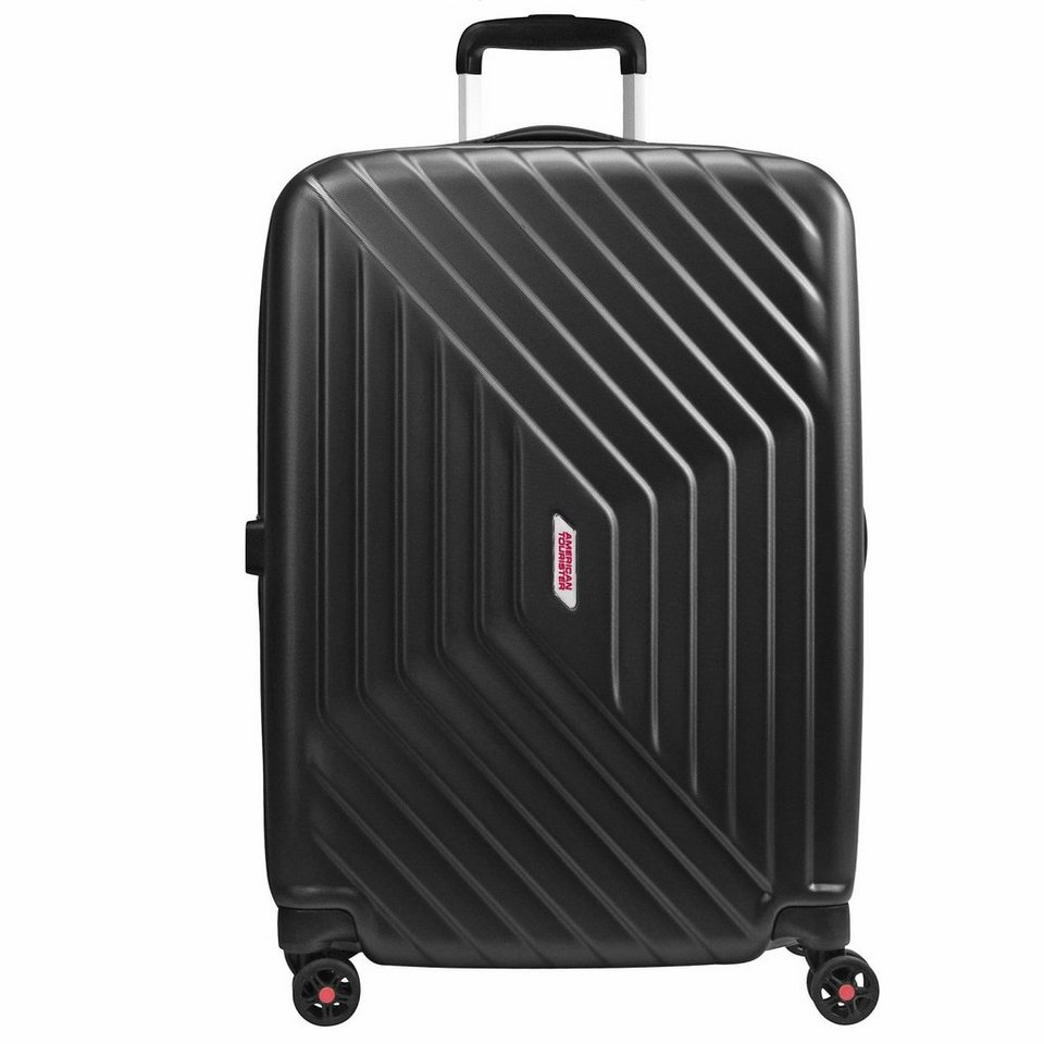 American Tourister Air Force 1 Spinner 4-Rollen Trolley 81 cm in galaxy black