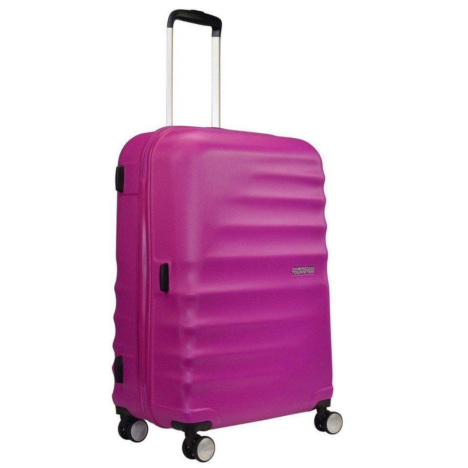 American Tourister Wavebreaker 4-Rollen Kofferset 3tlg. in hot lips pink