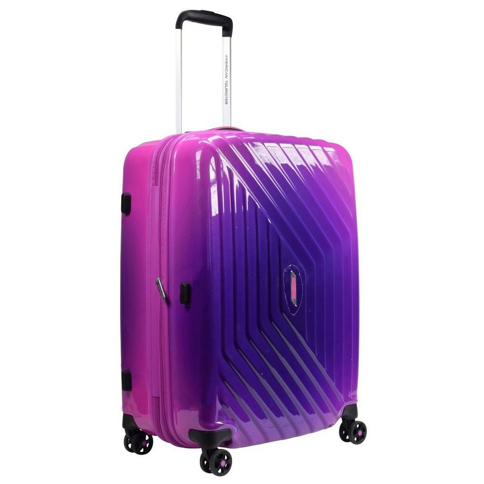 American Tourister Air Force 1 Gradient Spinner 4-Rollen Trolley 66 cm in gradient pink
