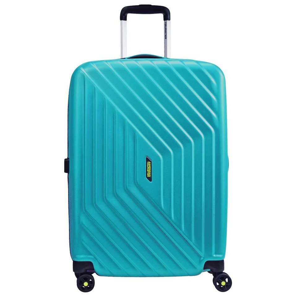 American Tourister Air Force 1 Spinner 4-Rollen Trolley 76 cm in aero turquoise