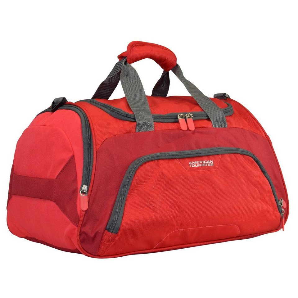 American Tourister Road Quest Sporttasche Weekender 50 cm in solid red