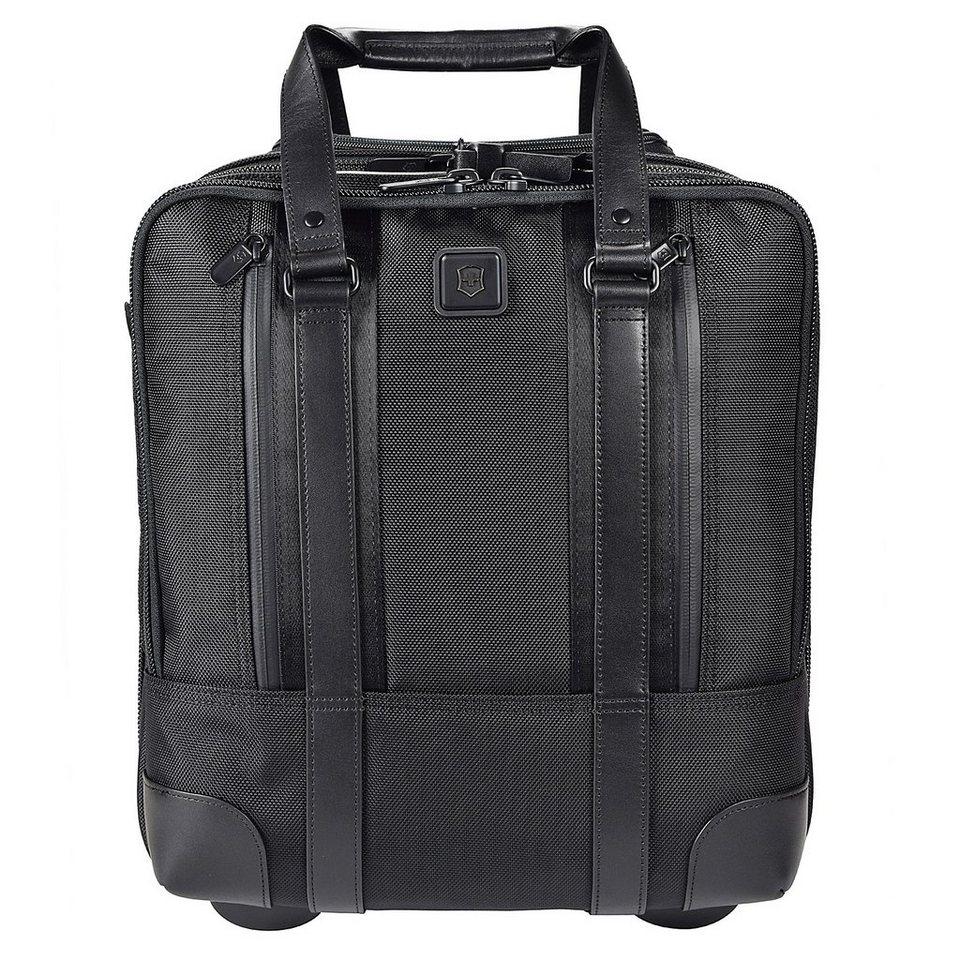 Victorinox Lexicon Professional 2-Rollen Businesstrolley 38 cm Laptopfach in schwarz