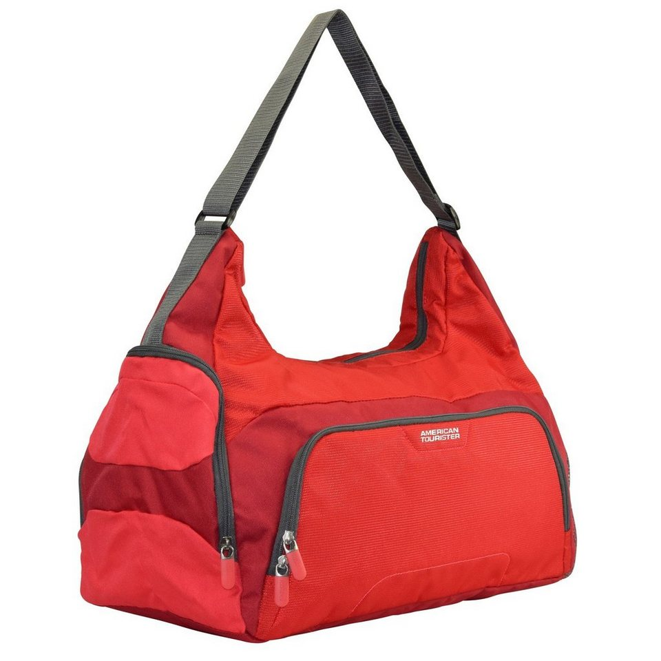 American Tourister Road Quest Damen Sporttasche Weekender 48 cm in solid red