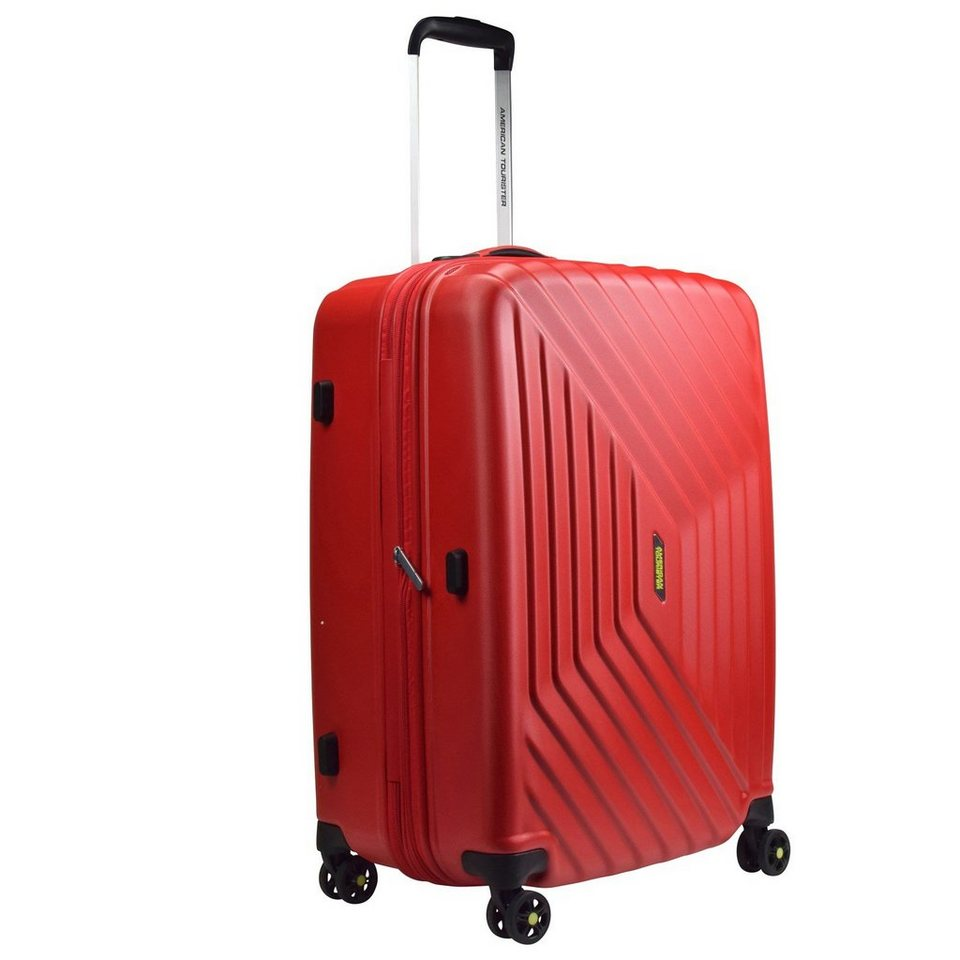 American Tourister Air Force 1 Spinner 4-Rollen Trolley 81 cm in flame red