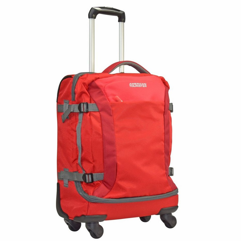 American Tourister Road Quest 4-Rollen-Reisetasche Duffle 55 cm in solid red