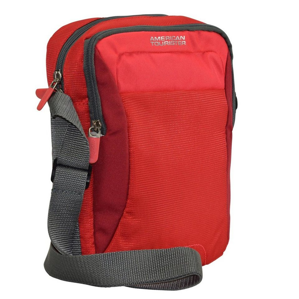 American Tourister American Tourister Road Quest Crossover Umhängetasche 21 cm in solid red