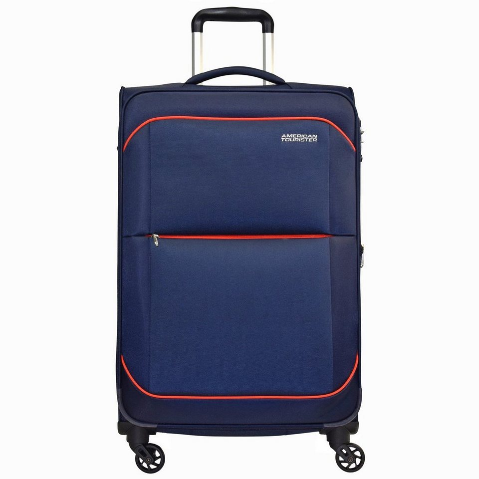 American Tourister Sunbeam Spinner 4-Rollen Trolley 79 cm in nordic blue
