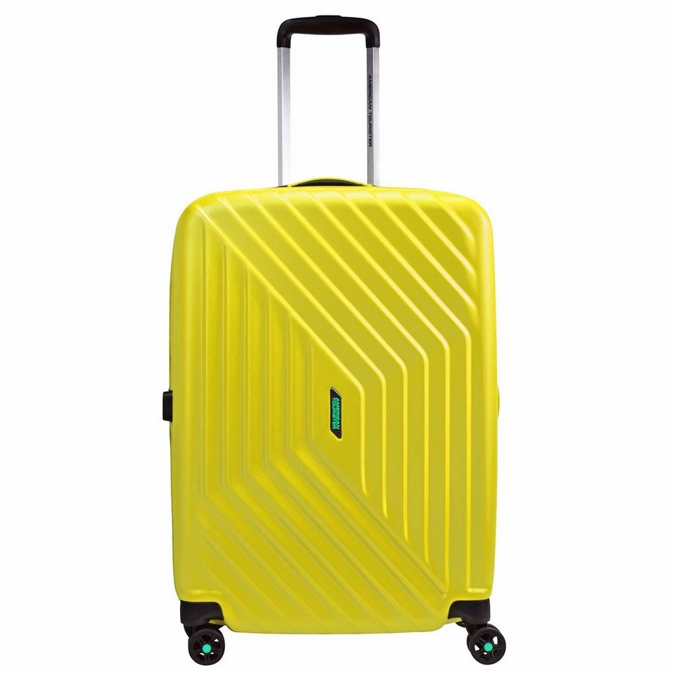 American Tourister Air Force 1 Spinner 4-Rollen Trolley 66 cm in sunny yellow