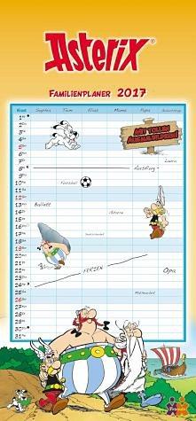 Kalender »Asterix & Obelix Familienplaner 2017«