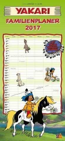 Kalender »Yakari Familienplaner 2017«
