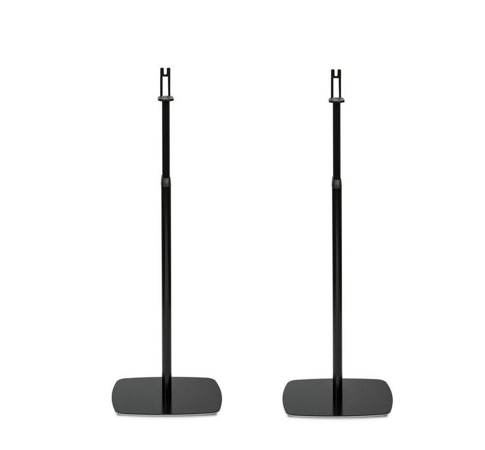 Flexson (Paar) Lautsprecherständer »Verstellbarer Standfuß für Sonos Play:1« in schwarz