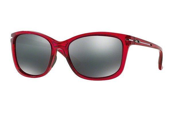 Oakley Damen Sonnenbrille »DROP IN OO9232« in 923208 - rot/schwarz