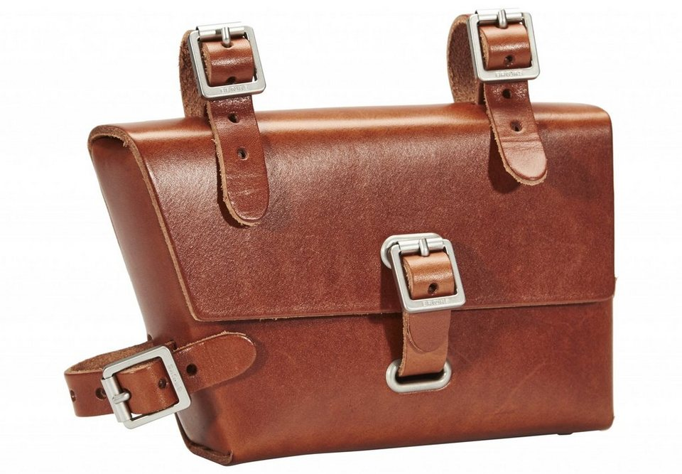 Brooks Gepäckträgertasche »B4 Moulded Bag Leather«