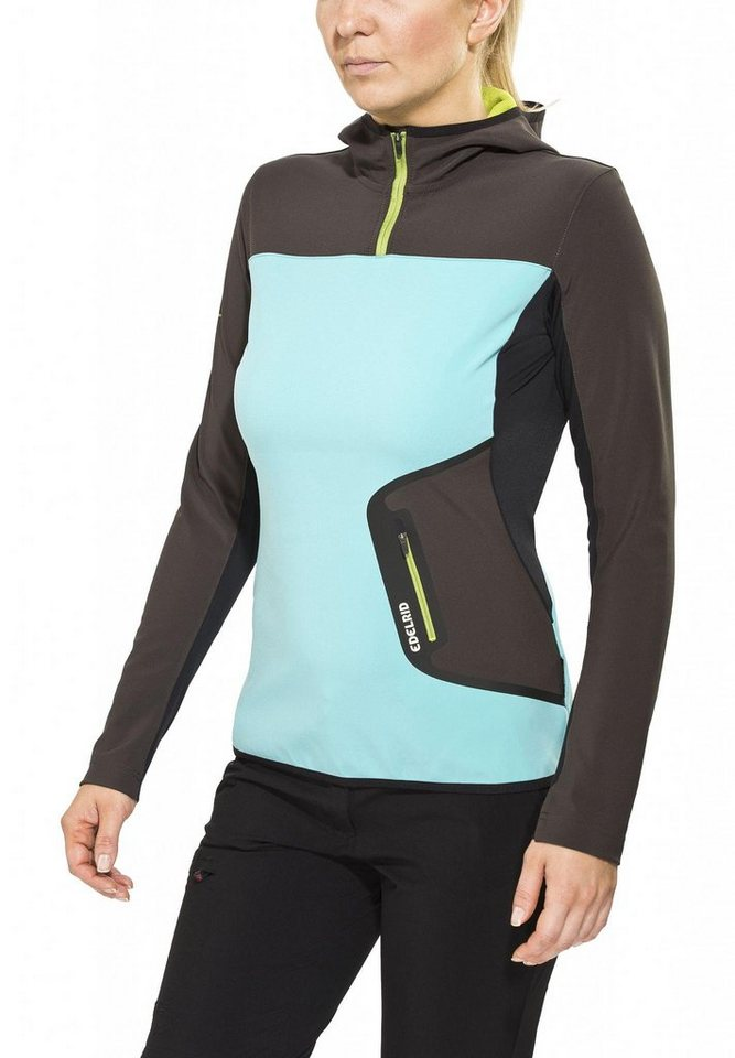 Edelrid Pullover »Holly Hoody Women« in grau