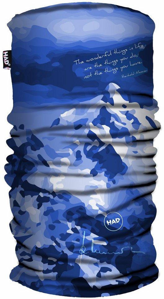 HAD Accessoire »Reinhold Messner Schlauchtuch Printed Fleece« in blau