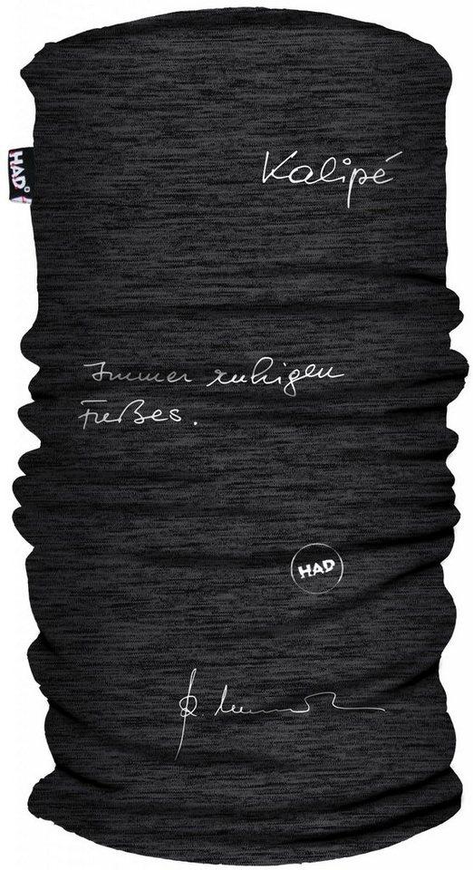 HAD Accessoire »Reinhold Messner Schlauchtuch Printed Fleece« in grau