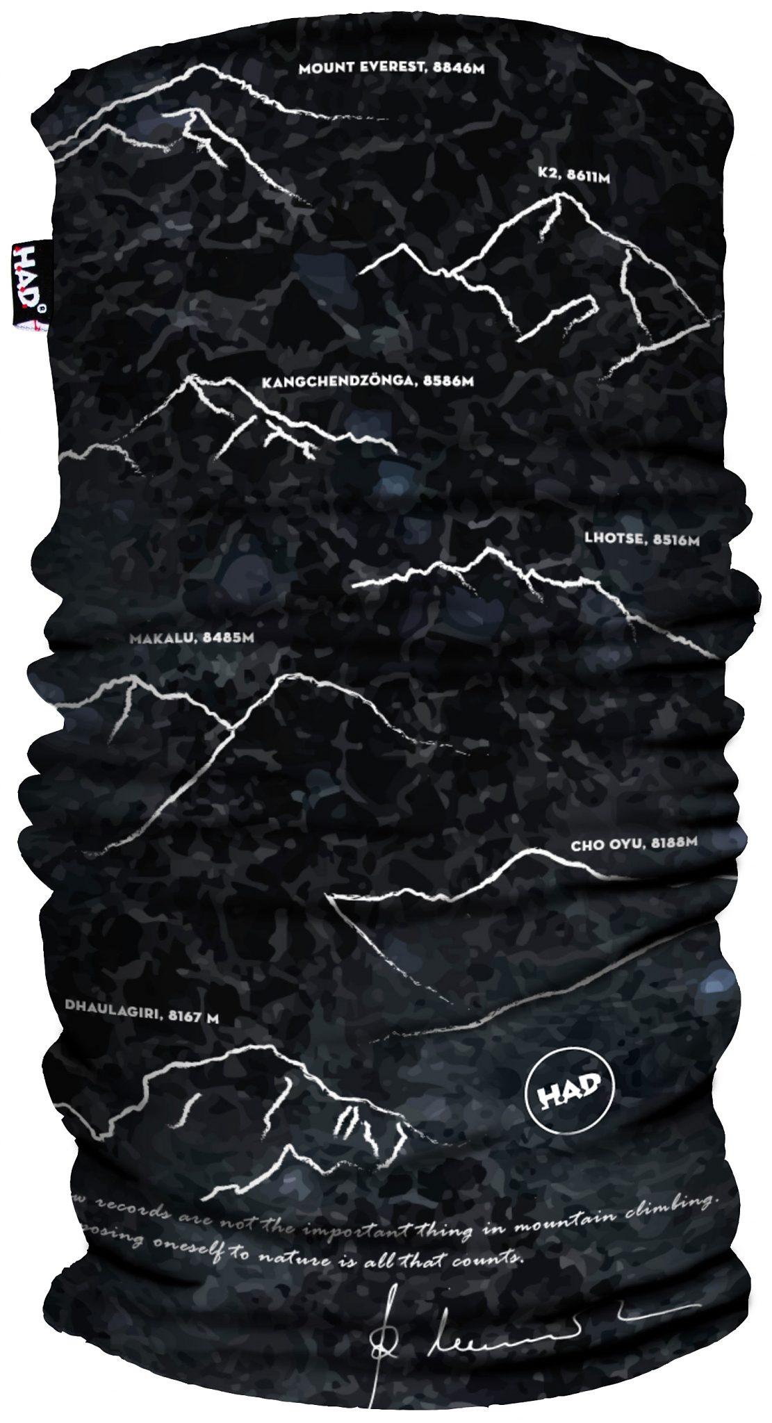 HAD Accessoire »Reinhold Messner Schlauchtuch Printed Fleece«