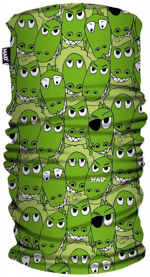 HAD Schal »Printed Fleece Tube Kids« in grün