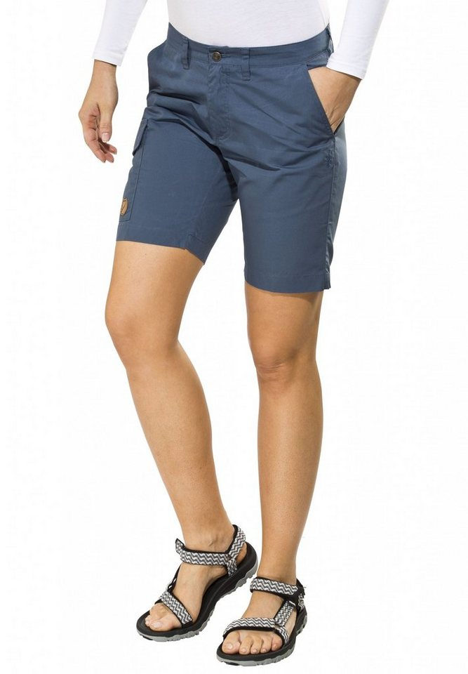FJÄLLRÄVEN Hose »Övik Shorts Women« in blau