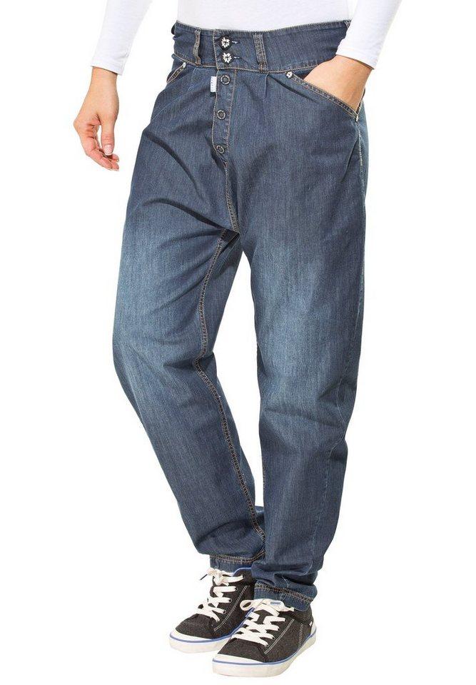 Gentic Outdoorhose »Midnight Gravity Pants Women« in blau